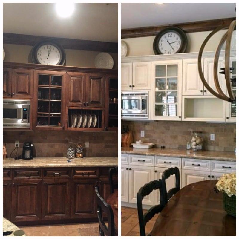 Professional kitchen painting