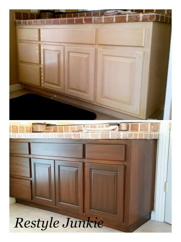 How to refinish cabinets