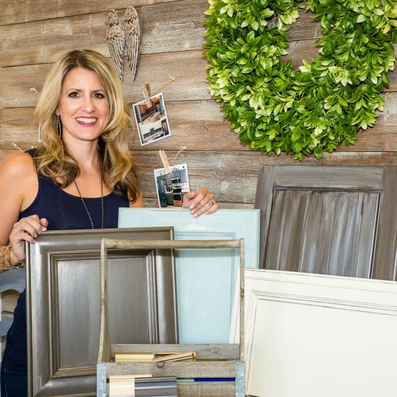 Learn to paint your cabinets