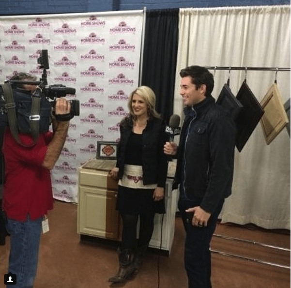 Restyle Junkie Rachel Trimble and Brandon Hamilton 12 News