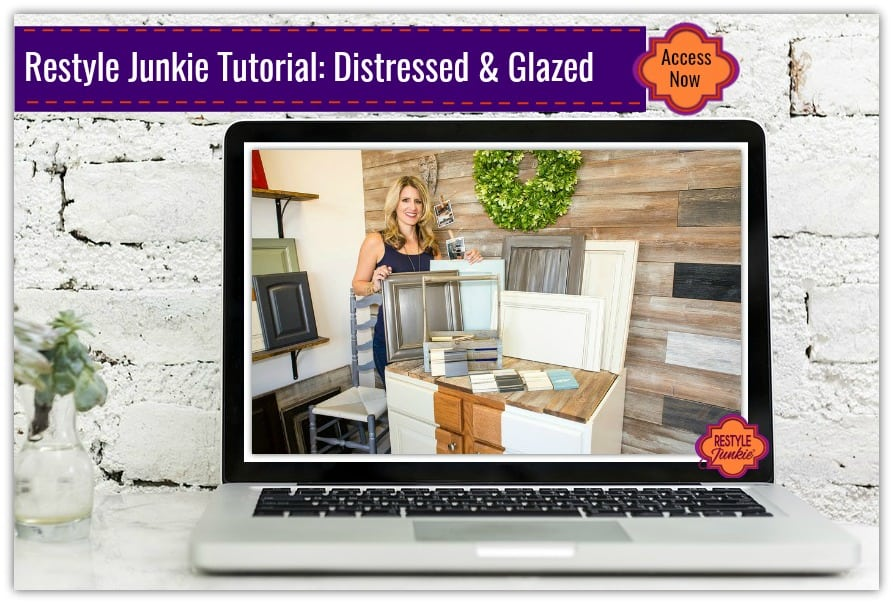 Distressed and Glazed Finishes Tutorial