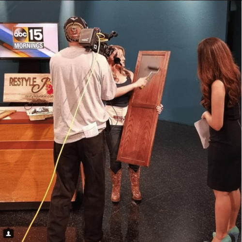 Restyle Junkie on ABC 15 Morning Show