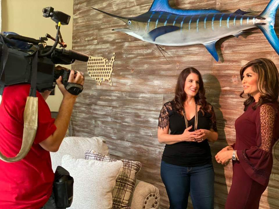 Restyle Junkie Rachel Elise Trimble featured by Syleste Rodriguez on Fox 10's Cool Home