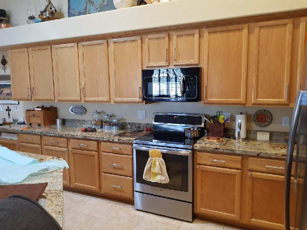 Honey Oak Cabinets DIY or Hire a Contractor to Paint